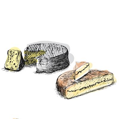 Accords mets & vins - Fromage vache