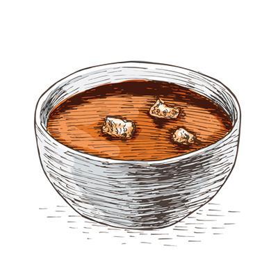 Accords mets & vins - Soupe