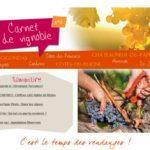 Carnet de Vignoble 2 - Vins Côtes du Rhônes