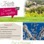 Carnet de Vignoble 4 - Vins Côtes du Rhônes