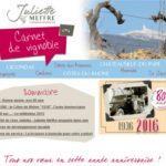 Carnet de Vignoble 6 - Vins Côtes du Rhônes