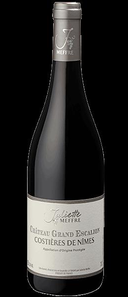 Vin Languedoc - Costières de Nîmes - Grand Escalion Rouge - 2015