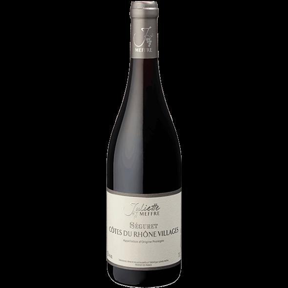 Vin Rhône - Côtes du Rhône Villages - Séguret- 2015