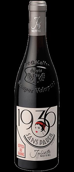 Vin Rhône - Côtes du Rhône - Sans Pareil - Cuvée 1936 - 2015