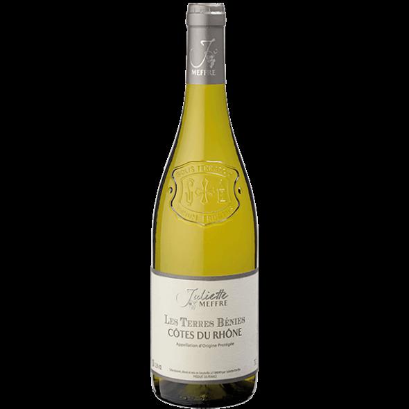 Vin Rhône - Côtes du Rhône - Les Terres Bénies - Blanc - 2016