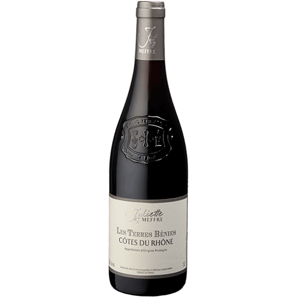 Vin Rhône - Côtes du Rhône - Les Terres Bénies - Rouge - 2015