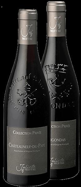 Vin Rhône - Coffret Gigondas - Châteauneuf du Pape - 2013
